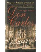 Don Carlos - színházi füzet