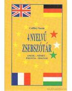 4 nyelvű zsebszótár - Angol-német-francia-magyar
