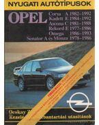 Nyugati autótípusok - Opel