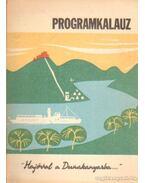 Hajóval a Dunakanyar - programkalauz