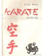Karate szótár