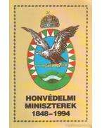 Honvédelmi miniszterek 1848-1994