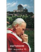 A Szentatya Esztergomban 1991. augusztus 16
