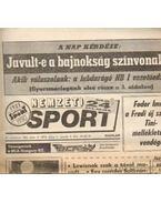 Nemzeti Sport 1992. Július (teljes) - Szekeres István