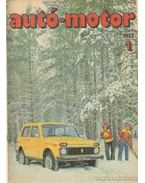 Autó-motor 1977 teljes (1-24. szám) + magazin