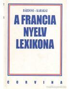 A francia nyelv lexikona