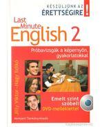 Last Minute English 2. - Nagy Ildikó, Jilly Viktor