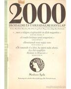 2000 Irodalmi és Társadalmi havi lap MCMLXXXIX április
