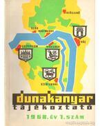 Dunakanyar tájékoztató 1968. év 1. szám