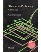 Themes for Proficiency without key