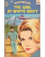 The girl at white drift