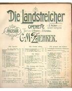 Die Landstreicher operette in 2 acten und einem Vorspiele