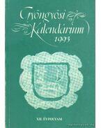 Gyöngyösi kalendárium 1993. XII. évfolyam