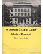 Az Erdészeti és Faipari Egyetem tudományos közleményei - Erdészet - Faipar - Geodézia