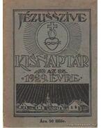 Jézus Szíve Kisnaptár 1929. évre - Blaskó Mária