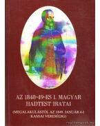 Az 1848-49-es Magyar haditest iratai I. kötet