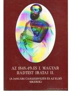 Az 1848-49-es Magyar haditest iratai II. kötet