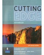 Cutting Edge advanced I-II. - Students' book and workbook with key