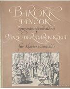 Barokk táncok zongorára (csembalóra) I.