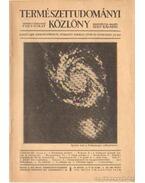 Természettudományi Közlöny 1933. május 9-10. szám