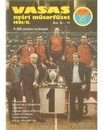 Vasas nyári műsorfüzet 1981/II.