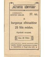 A burgonya elkészítése 25 féle módon