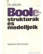 Boole-struktúrák és modelljeik