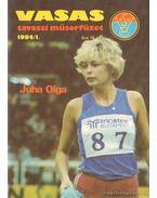 Vasas tavaszi műsorfüzet 1984/I.