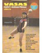 Vasas nyári műsorfüzet 1983/II.