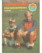 Vasas őszi műsorfüzet 1984/III.