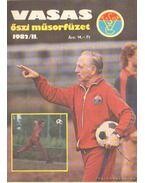 Vasas őszi műsorfüzet 1982/II.