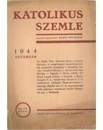 Katolikus Szemle 1944 december