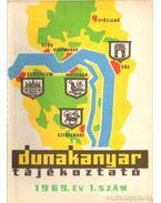 Dunakanyar tájékoztató 1969. év 1. szám