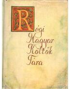 Régi Magyar költők tára XVII. század  1. kötet