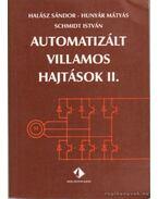 Automatizált villamos hajtások II.