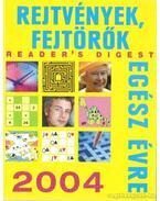 Rejtvények, fejtörők egész évre 2004