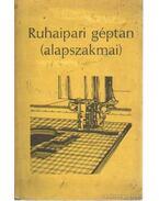 Ruhaipari géptan (alapszakmai)