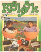Kölyök magazin 1988. április