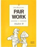Pair work - student B