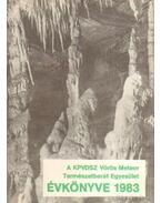 A KPVDSZ Vörös Meteor Természetbarát Egyesület Évkönyve 1983.
