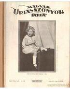 Magyar Uriasszonyok Lapja 1930. VII. évf. I-II. (teljes évfolyam)