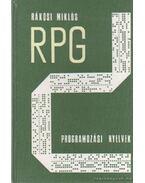 Az RPG programozási nyelvek - Rákosi Miklós