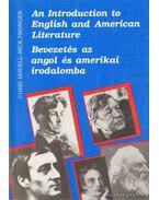 An Introduction to English and American Literature - Bevezetés az angol és amerikai irodalomba