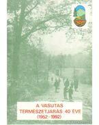 A vasutas természetjárás 40 éve (1952-1992)
