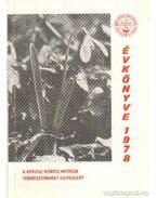 A KPVDSZ Vörös Meteor Természetbarát Egyesület évkönyve 1978
