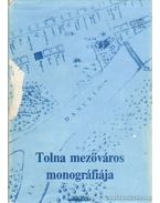 Tolna mezőváros monográfiája