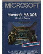 Microsoft MS-DOS Operating System (Version 3.2)