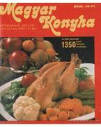 Magyar Konyha 1980. IV. éfolyam (teljes)