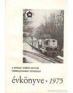 A KPVDSZ Vörös Meteor Természetbarát Egyesület Évkönyve 1975.
