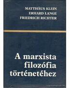 A marxista filozófia történetéhez